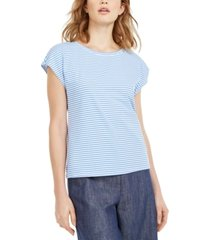 weekend max mara striped cap-sleeve t-shirt