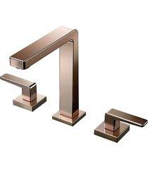 misturador para banheiro mesa stillo cobre polido - docol - docol