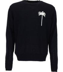 palm angels merino sweater
