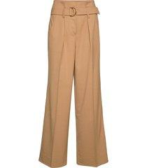 moyet hw trousers wijde broek bruin second female