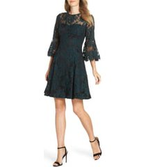 women's eliza j bell sleeve lace dress