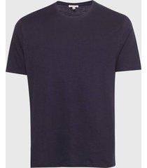 camiseta calvin klein jeans hoop nation azul-marinho