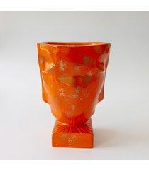 stojąca głowa / doniczka / dekoracja / wazon