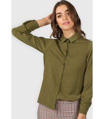 camisa verde tarym