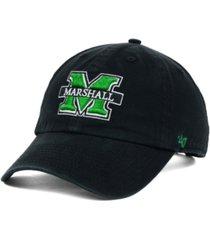 '47 brand marshall thundering herd clean-up cap