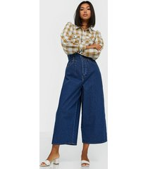 gestuz deagz gaucho jeans loose fit