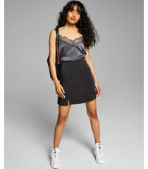 and now this women's lace-trim tank top