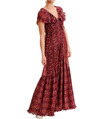 chiffon plisse collar dress