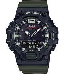 reloj casio hdc700-3av negro resina hombre