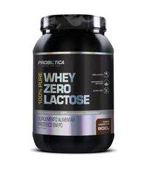100% pure whey zero lactose pote 900g - probiotica - sabor chocolate