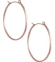 women's nashelle barrel hoop earrings