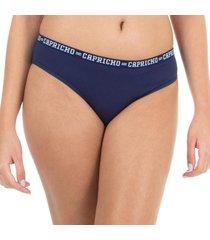 calcinha boneca azul capricho college - 520.023 capricho lingerie boneca azul