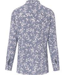 blouse met lange mouwen van peter hahn blauw
