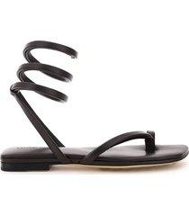 bottega veneta torcillon toe-thong sandals