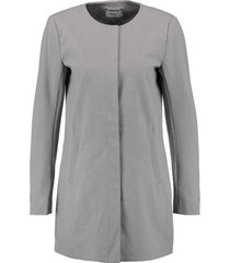 only stevige grijze gevoerde zomerjas