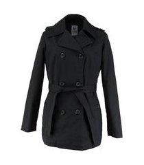 casaco térmico feminino trench coat broadway
