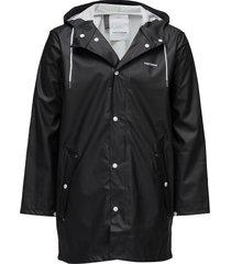 wings rainjacket regenkleding zwart tretorn