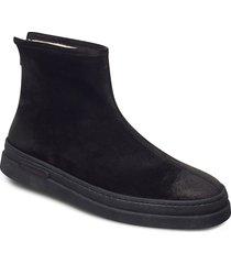 cloyd mid zip boot shoes boots winter boots svart gant