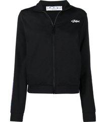 off-white black arrows-motif track jacket
