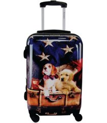"chariot freedom pups 20"" hardside luggage carry-on"