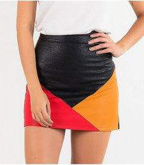 faldas rojo derek 818311