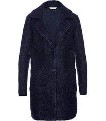 cappotto corto  bouclé (blu) - bpc selection