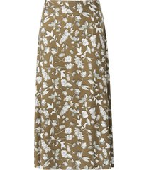 rok met bloemenprint van riani groen