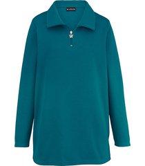 sweatshirt m. collection groen