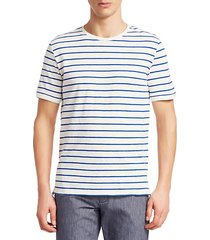 collection cotton stripe tee