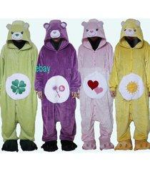kigurumi pajamas animal cosplay costume unisex one-piece bears sleepwear