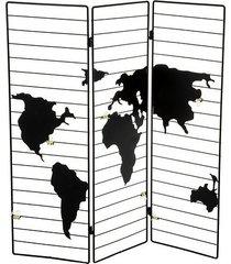 ramka na zdjęcia parawan wieszak mapa świata