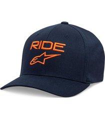gorro ride 2.0 azul marino alpinestars