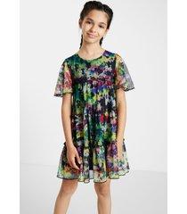 arty flounces dress - green - 9/10