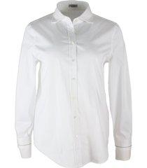 brunello cucinelli shirt in cotton stretch