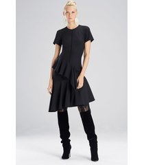 bistretch dress, women's, black, size 10, josie natori