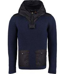 moncler genius ribbed virgin wool sweater