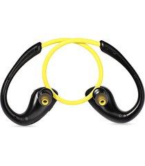 audífonos bluetooth, auriculares inalámbricos audifonos bluetooth manos libres  a880bl con micrófono auriculares estéreo deportivos (amarillo)