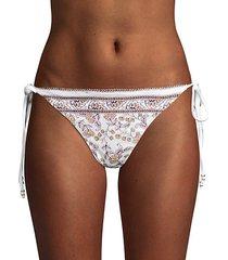 floral paisley bikini bottom