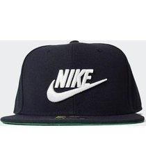 boné nike sportswear futura pro preto - único