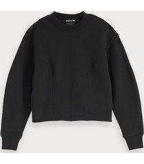 scotch & soda geconstrueerde sweater