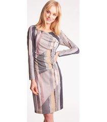 błyszcząca sukienka ołówkowa neomea