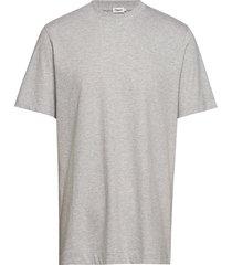 m. single jersey tee t-shirts short-sleeved grå filippa k