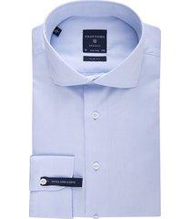 profuomo shirt slim fit blue mouwlengte 7
