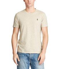 camiseta beige polo ralph lauren m classics dune tan