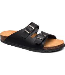 biabetricia buckle sandal shoes summer shoes flat sandals svart bianco