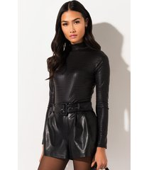 akira faster than you pleather snake bodysuit