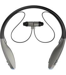 audifonos inalámbricos bluetooth deportivo h7 con micrófono - gris