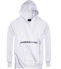bluza hoodie ex ove unf white