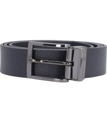 emporio armani reversible leather belt