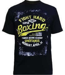 camiseta spartanus fightwear boxing